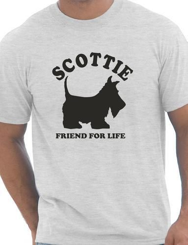 Scottie Köpek Lover Pet Mens T-Shirt Hediye Daha Boyut ve Colors-A133